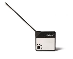 iOmegam ondersteunt iCelsius Pro thermometer